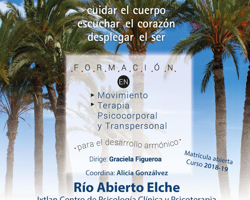Formacion Rio Abierto 2018.Presentacion en Elche,23 de Junio